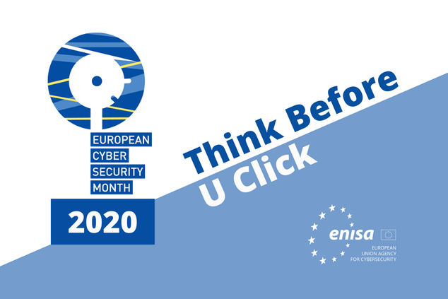 Logo des European Cyber Security Month (ECSM) 2020 der ENISA