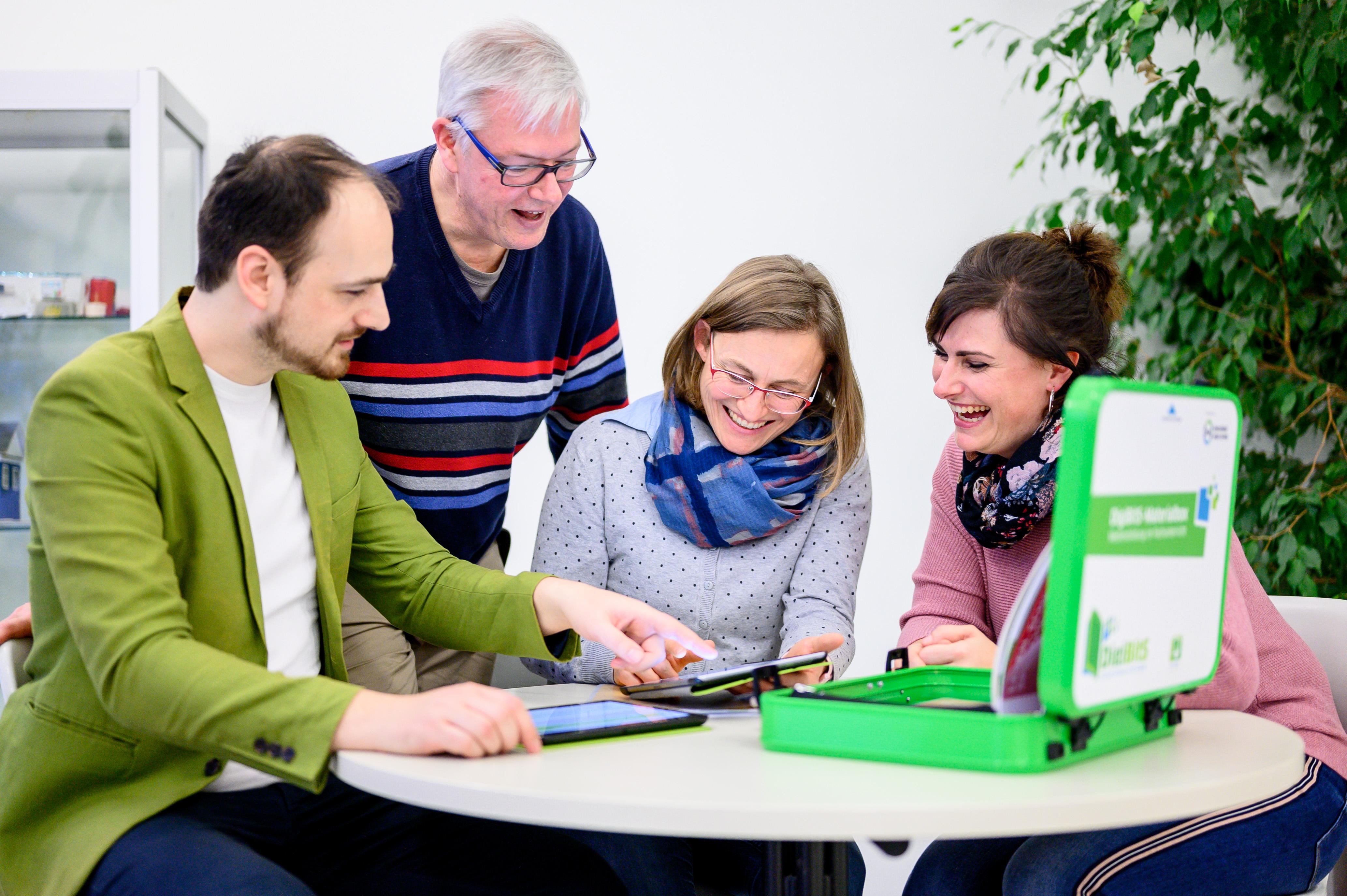 Netzwerktreffen der DigiBitS-Partnerschulen in Berlin-Brandenburg