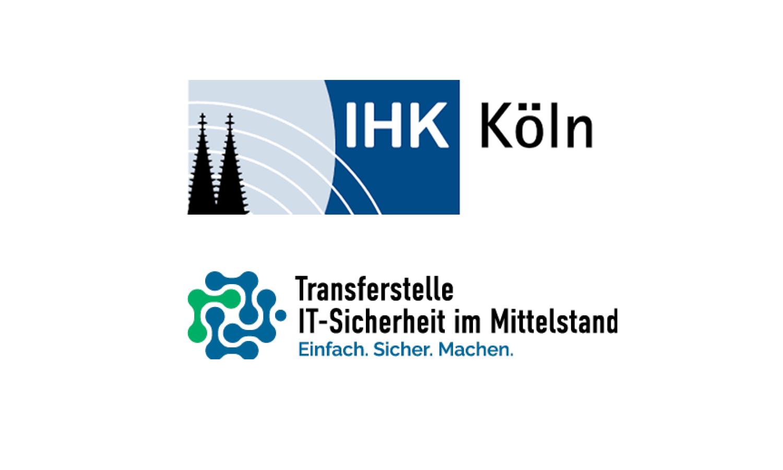 Logo IHK Köln und Transferstelle IT-Sicherheit im Mittelstand