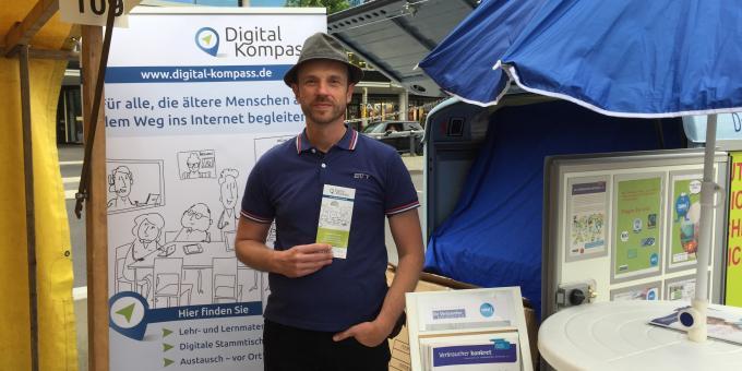 Termin DsiN Digital-Kompass auf der Berliner Seniorenwoche 2019