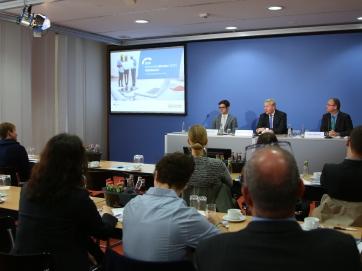 Pressekonferenz Sicherheitsmonitor Mittelstand
