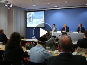 Pressekonferenz Sicherheitsmonitor