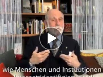Vint Cerf Videobotschaft