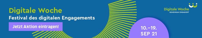 Digitale Woche #DigitalesEngagement 10. bis 19. September 2021 Jetzt  Aktion eintragen! E-Mail-Signatur