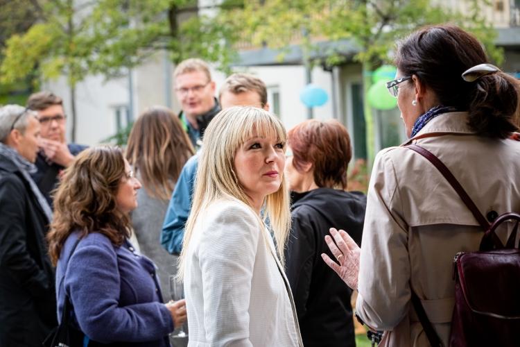 Austausch in entspannter Atmosphäre: Eröffnung des DsiN-Forum Digitale Aufklärung