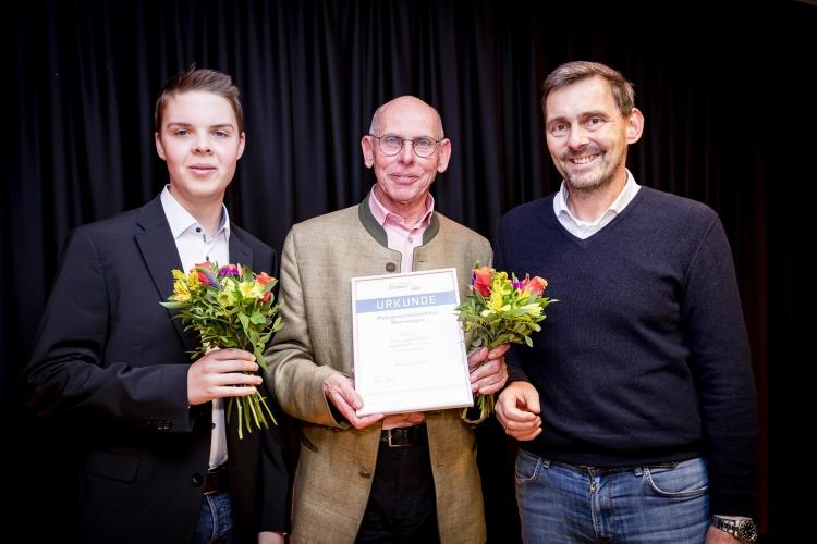 Preisträger MGH Memmingen mit Laudator Dr. Jan Kurz