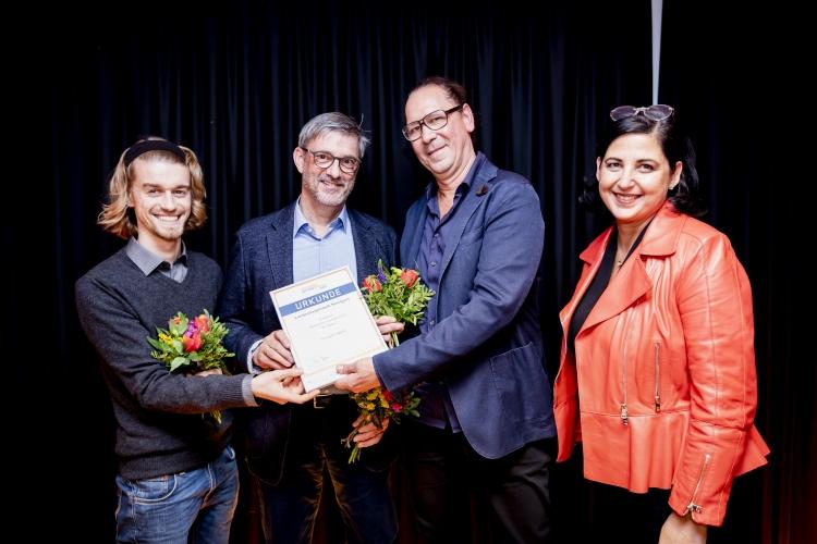 Preisträger Landeshauptstadt Stuttgart  mit Laudatorin Susanne Diehm