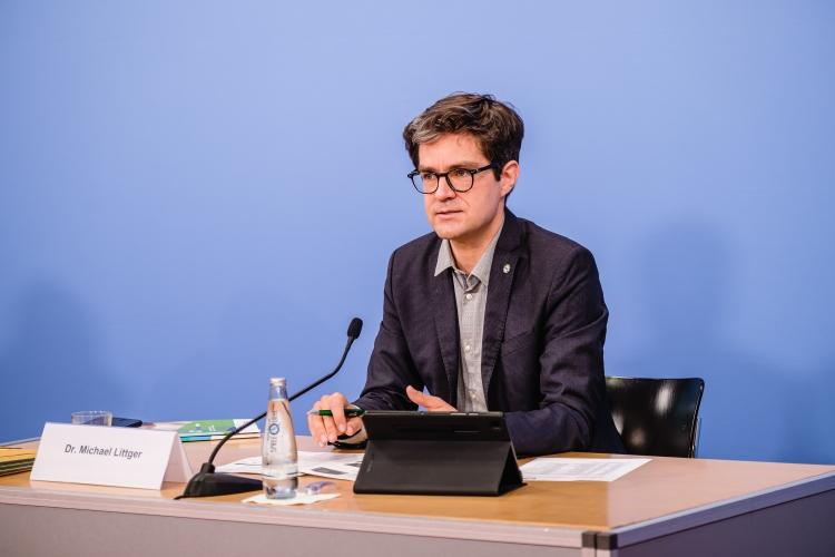 Vorstellung des DsiN-Sicherheitsindex 2021: Dr. Michael Littger (DsiN-Geschäftsführer)