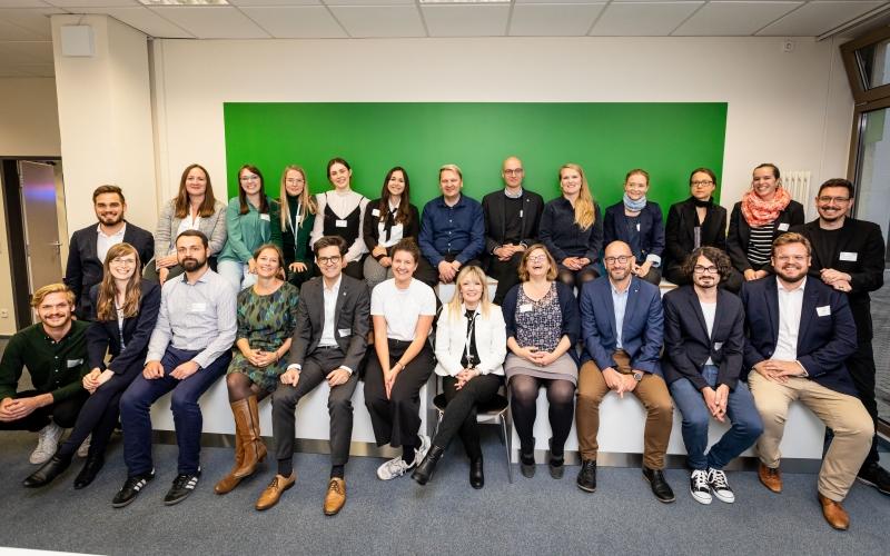 DsiN-Team bei der Eröffnung des DsiN-Forums Digitale Aufklärung