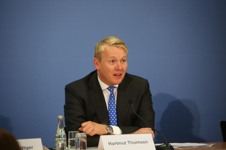 DsiN-Vorstand (amt.) Hartmut Thomsen.