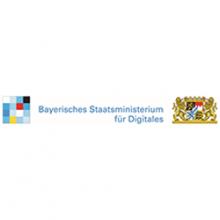 Bayerisches Staatsministerium für Digitales_Logo