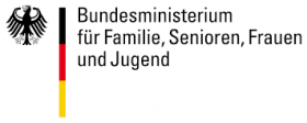 Logo Bundesministerium Familie, Senioren, Frauen und Jugend