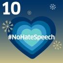 Herz mit Aufschrift No Hate Speech