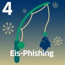 "Angel mit Fisch mit Text ""Eis-Phishing"""