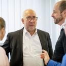 Staatssekretär Gerd Billen im Gespräch