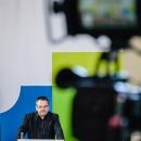 Begrüßung durch DsiN-Vorstandsvorsitzenden Thomas Tschersich (Telekom)