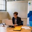 """DsiN-Geschäftsführer Dr. Michael Littger in Forum B """"Betriebe und Beruf"""""""