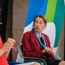 Prof. Dr. Ulrike Rockmann (stellv. Landeswahlleiterin Berlin) auf dem DsiN-Jahreskongress 2021