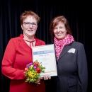 Preisträgerin Loburger digi_kids Projekt mit Lautatorin Martina Schwebe-Eckstein