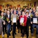Gruppenfoto der Preisträger des Goldenen Internetpreises 2019