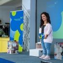 Verleihung des Digitalen Vereinsmeiers 2021 - Moderatorin Janina Nagel