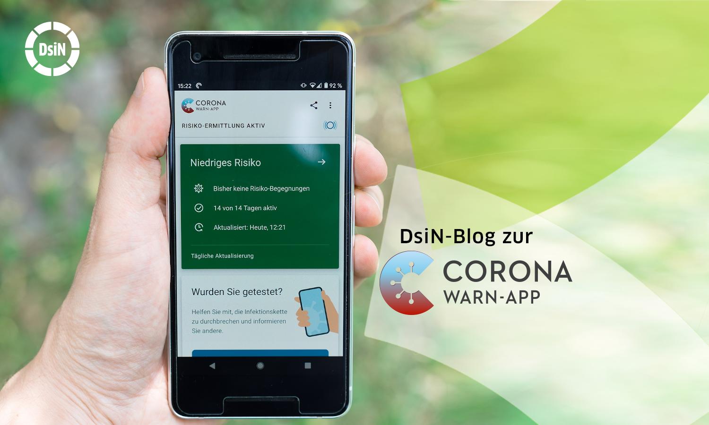 Der DsiN-Blog zur Corona-Warn-App