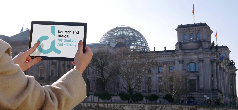 Deutschland Dialog für digitale Aufklärung deutscher Bundestag