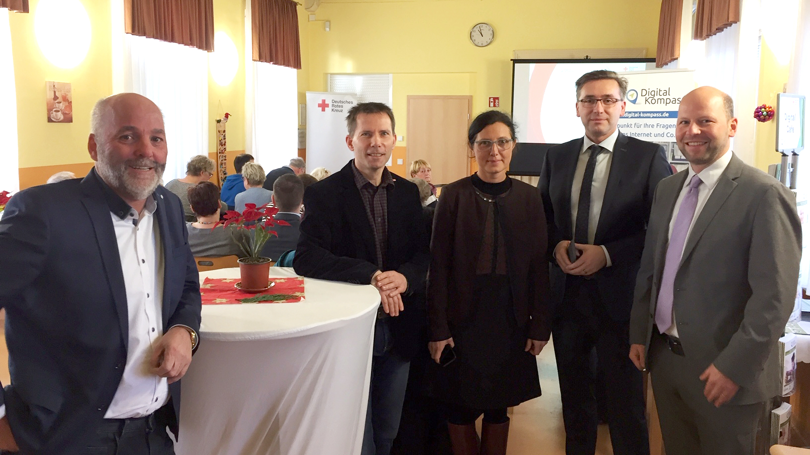 Digital-Kompass Standort Eröffnung in Wanzleben