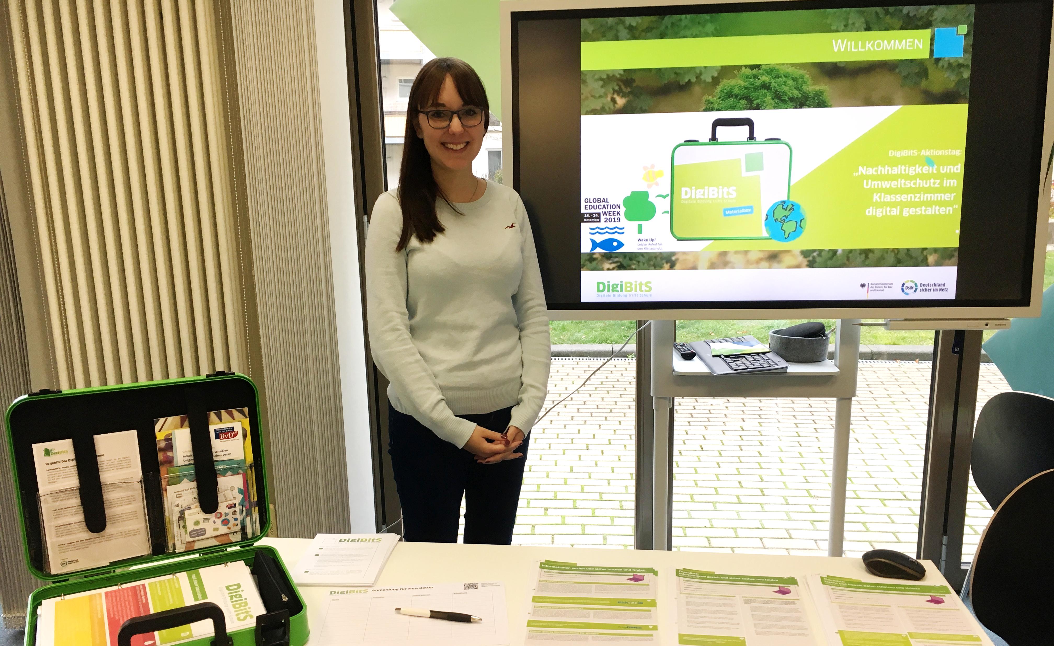 DigiBitS-Aktionstag:  Nachhaltigkeit und Umweltschutz im Klassenzimmer digital gestalten