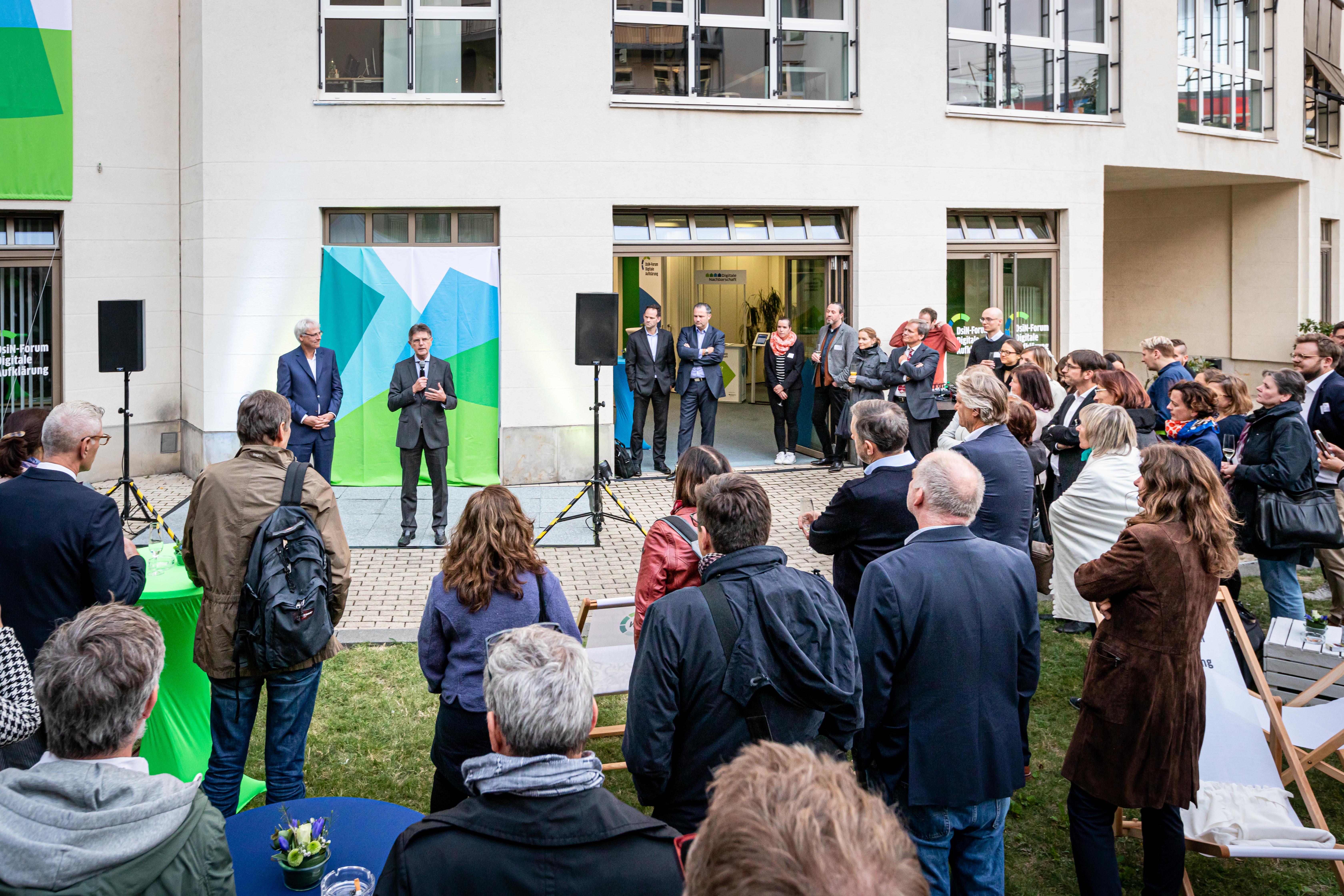 Eröffnung DsiN Forum Digitale Aufklärung Vitt Kremer Littger