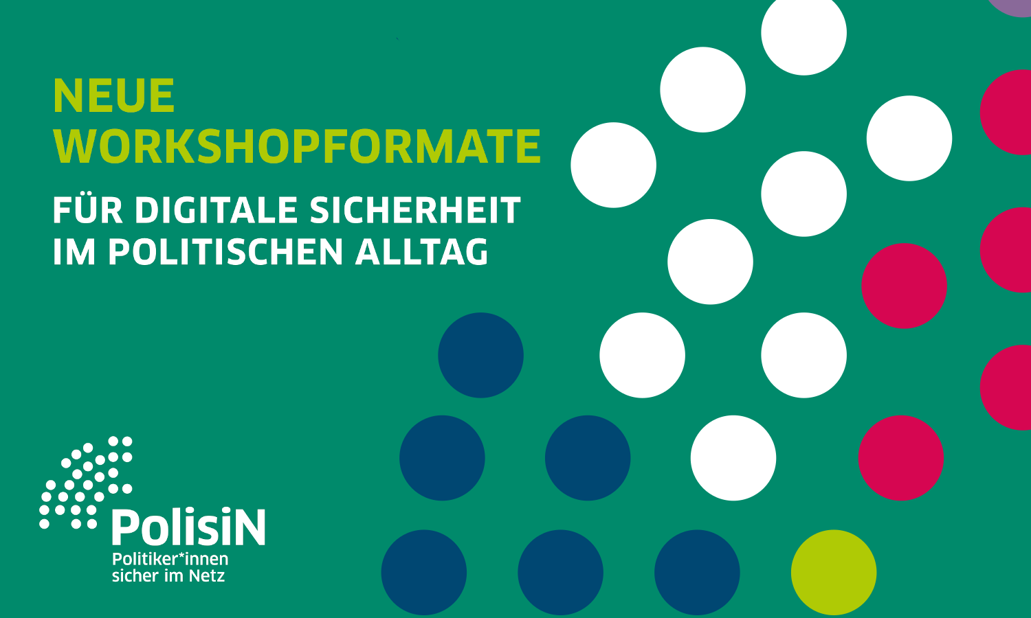 Neue Workshop-Formate bei PolisiN Flyer