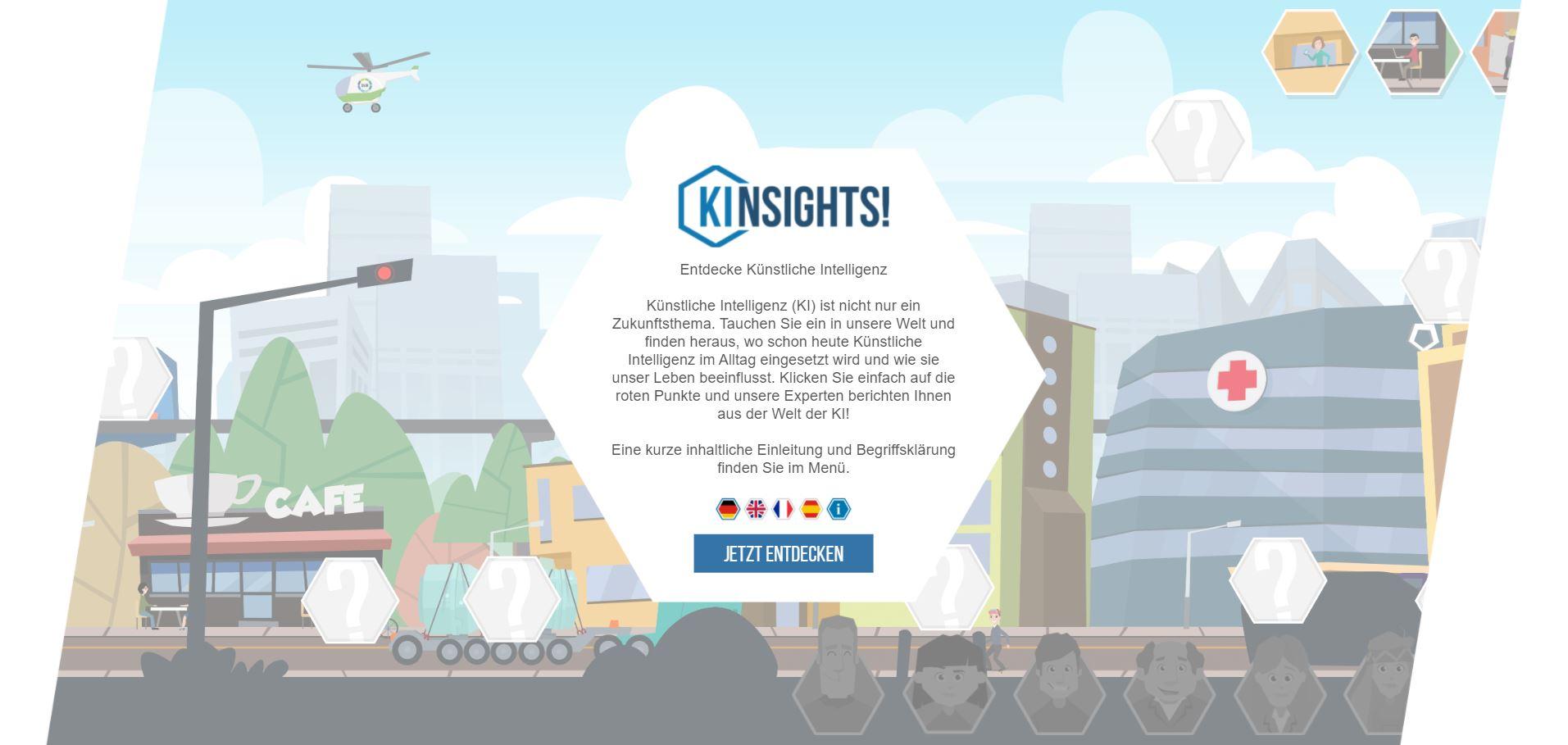 KInsights! Screenshot Startbildschirm