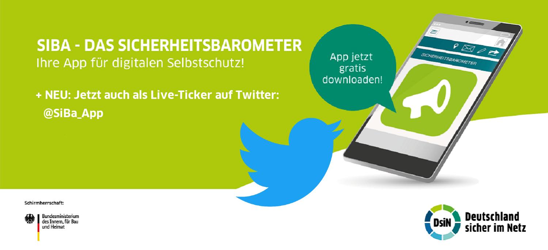 SiBa-App Twitter-Live-Ticker