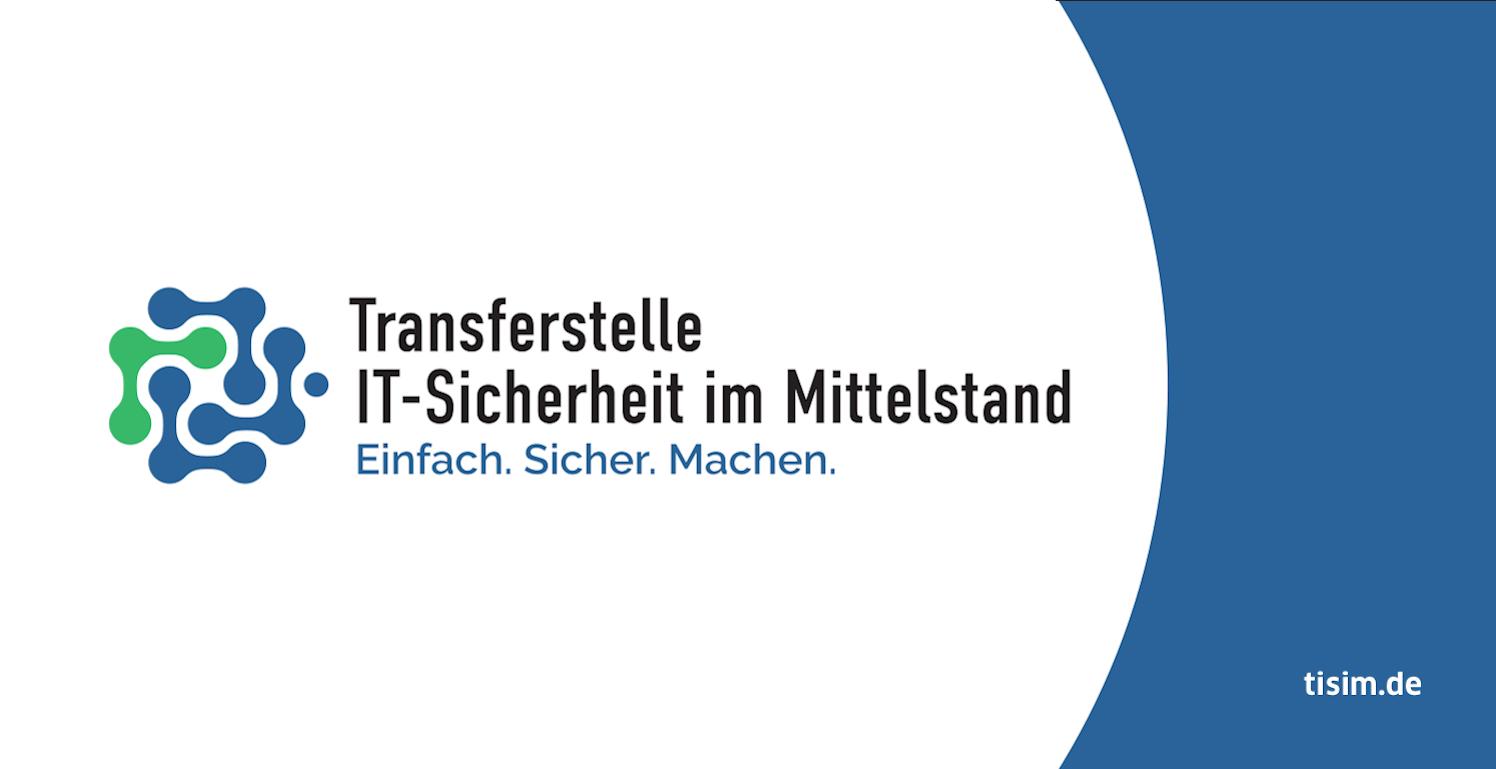TisiM Logo (Transferstelle IT-Sicherheit im Mittelstand)