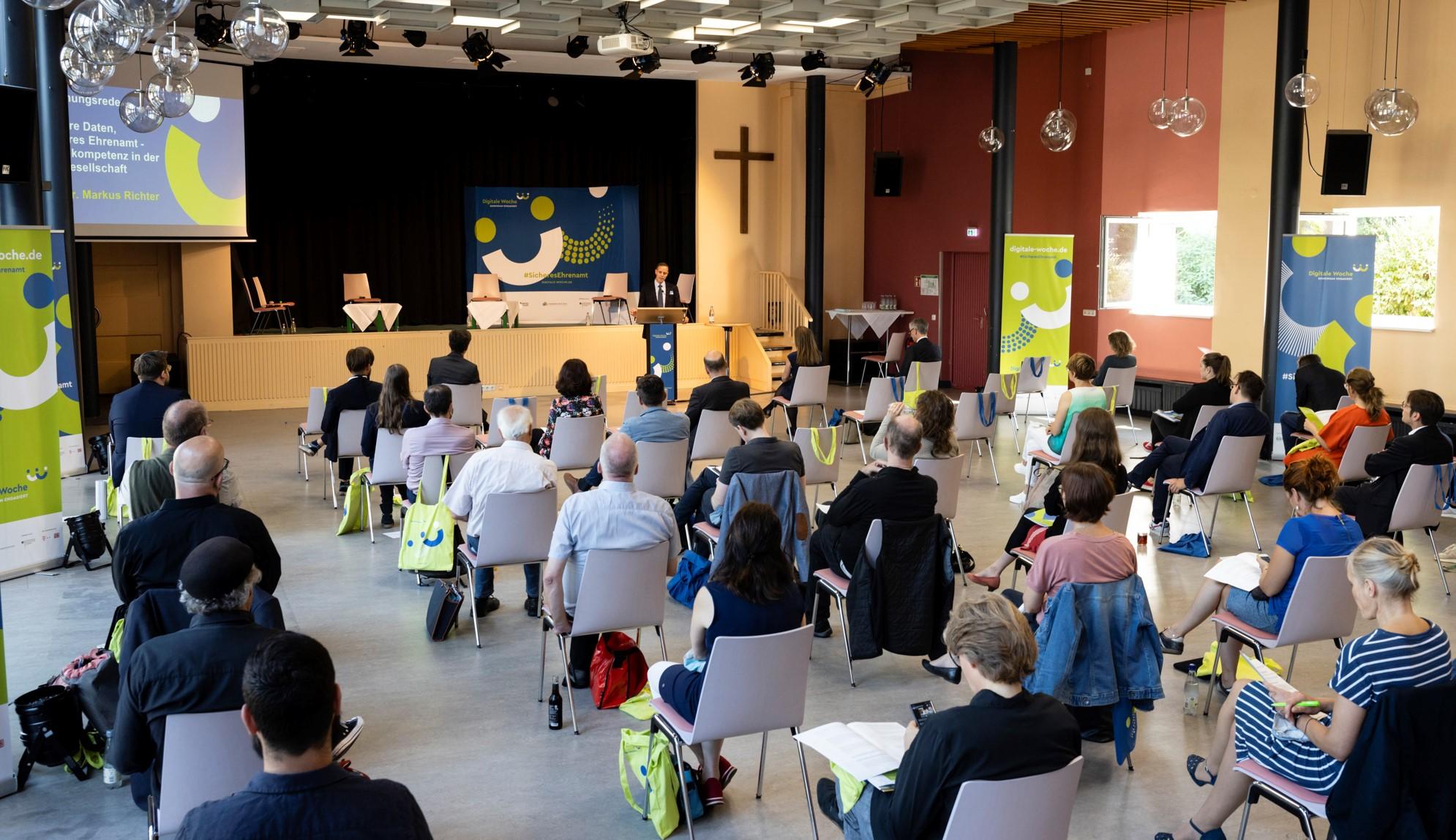 Eröffnung des DiNa-Gipfels 2020 durch Innenstaatssekretär Dr. Markus Richter