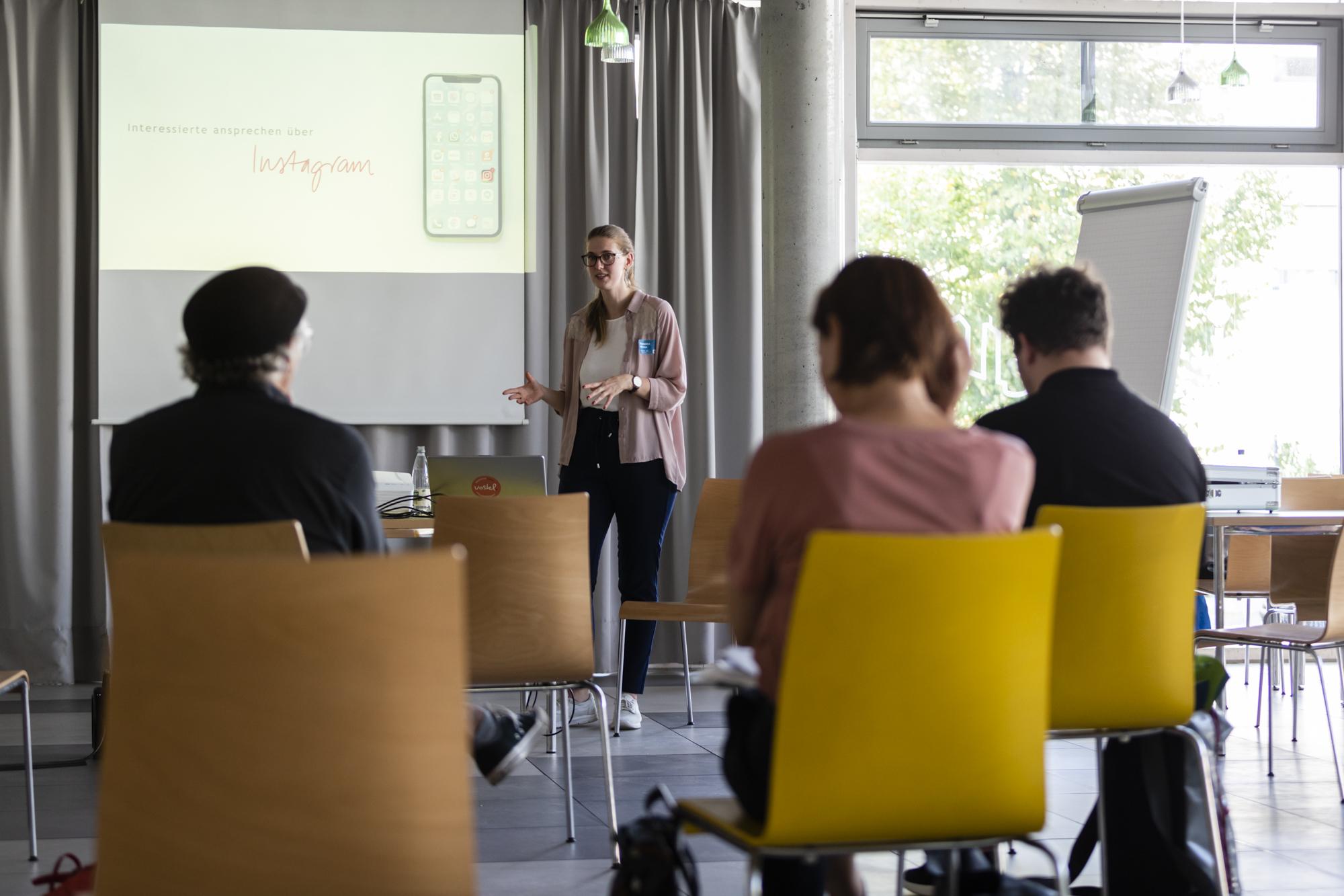 Workshop auf der Digitalen Woche 2021