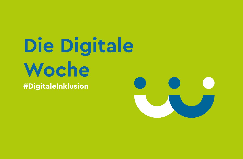 Banner Digitale Woche Hashtag Digitale Inklusion