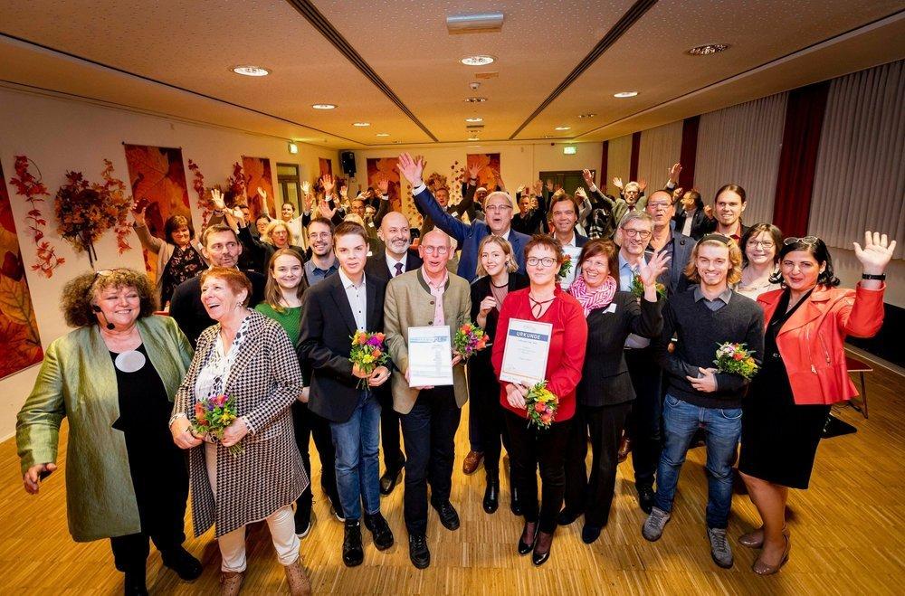 Goldener Internetpreis GIP 2019: Gewinner*innen auf der Preisverleihung in Dortmund