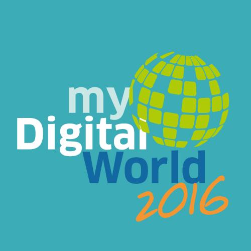 Jugendwettbewerb mydigitalworl 2016 Logo